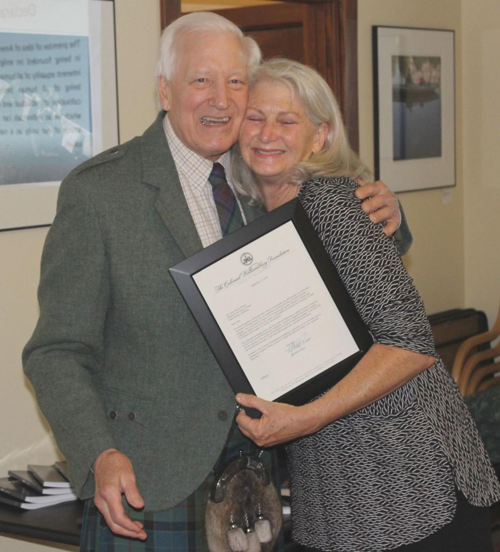 John Wilson and Julie Spencer