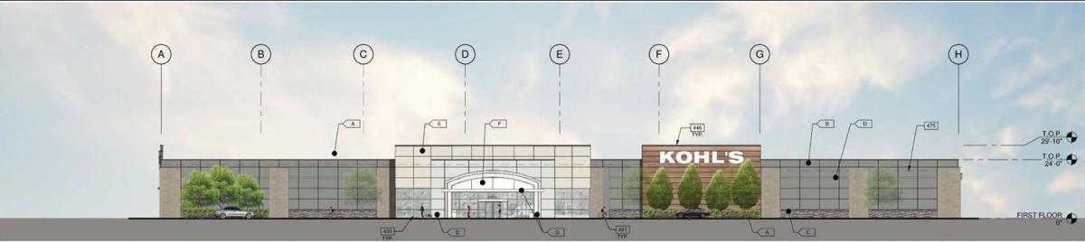Soscol Square shopping center design, Napa