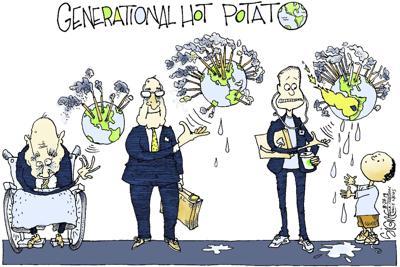 Signe Wilkinson editorial cartoon