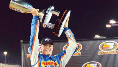 Derek Thorn wins NASCAR K&N Pro West title