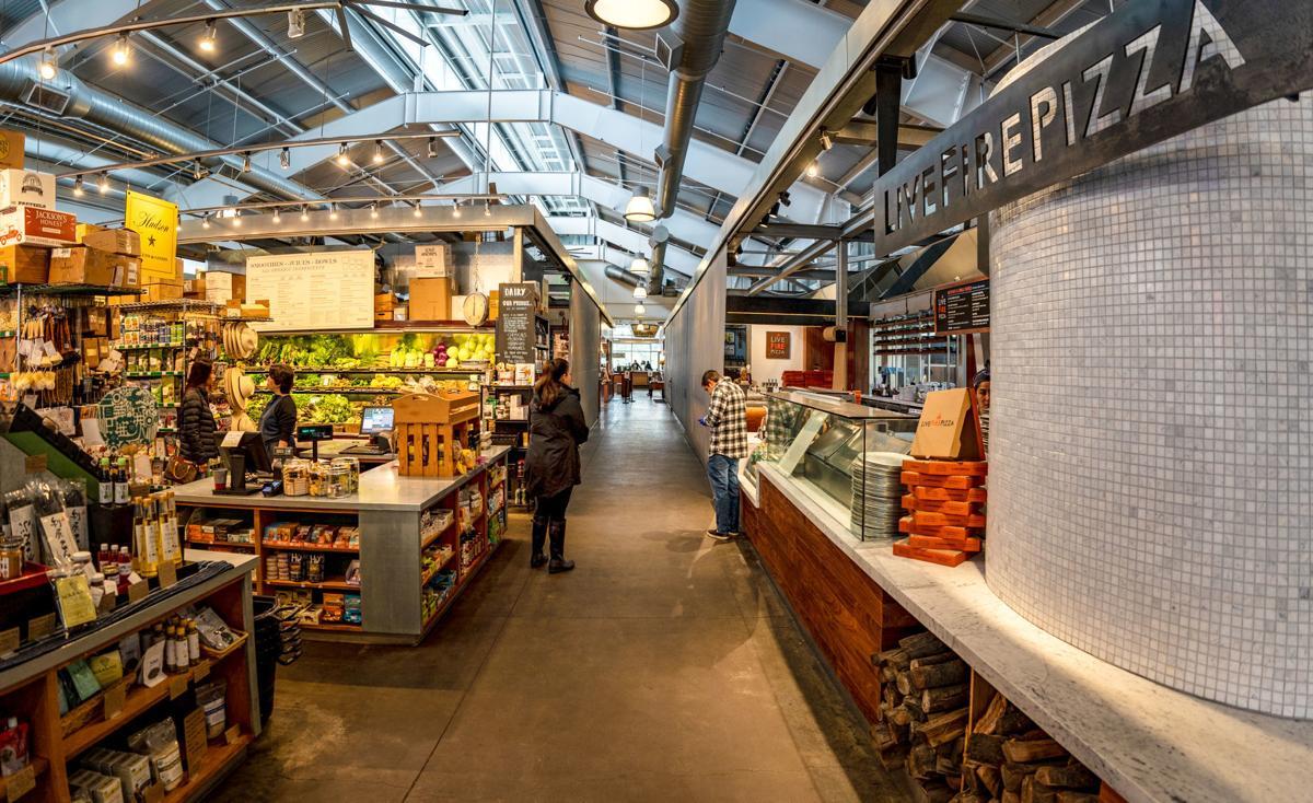 Inside Oxbow Public Market