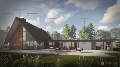 River Park Manor clubhouse design