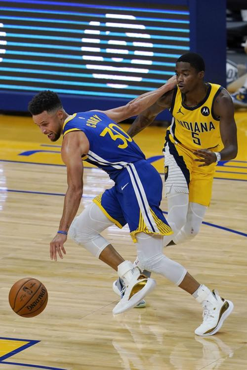 Pacers Warriors Basketball