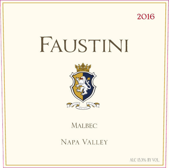 Faustini Wines label