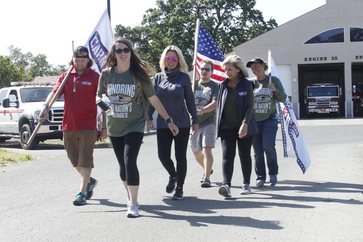 'Carry The Load' team marches through Napa County