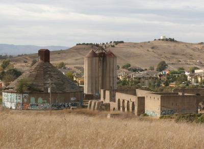 Cement factory ruins American Canyon