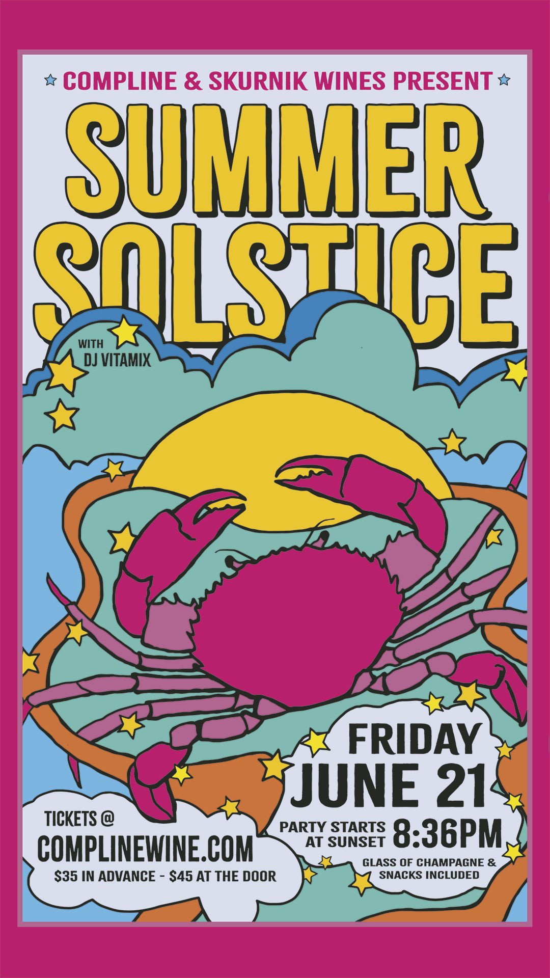 Compline Summer Solstice Party