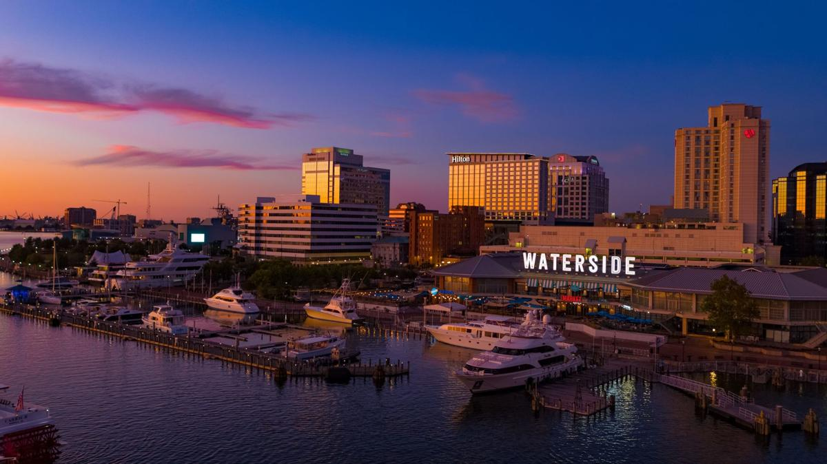 Norfolk's Waterside District is a favorite with visitors.