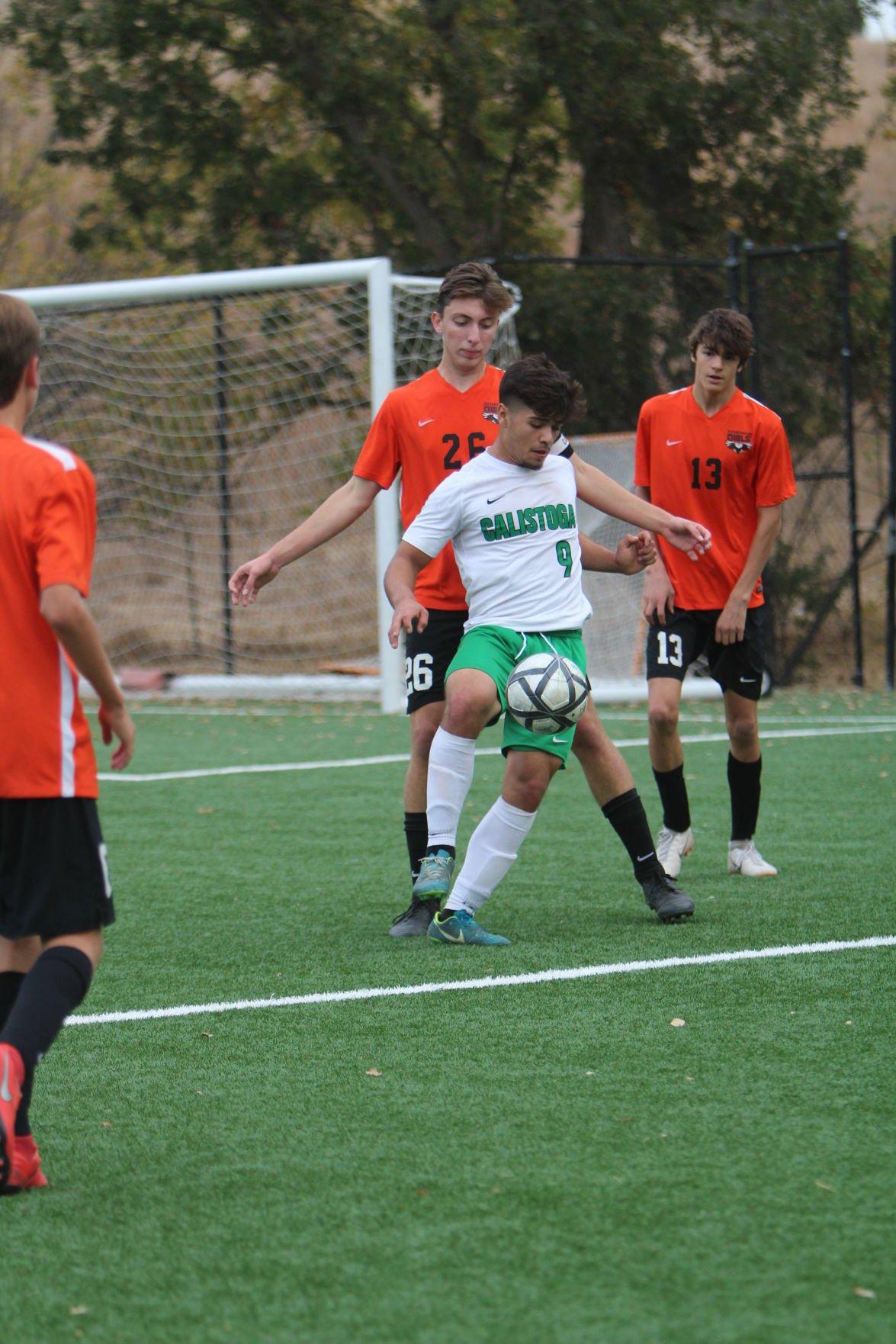 Calistoga boys soccer playoffs
