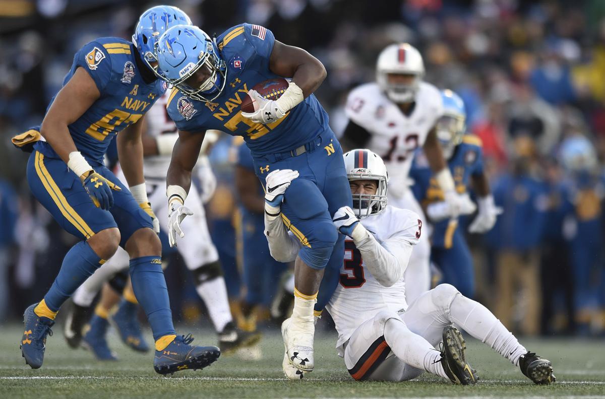 Military Bowl Virginia Navy Football