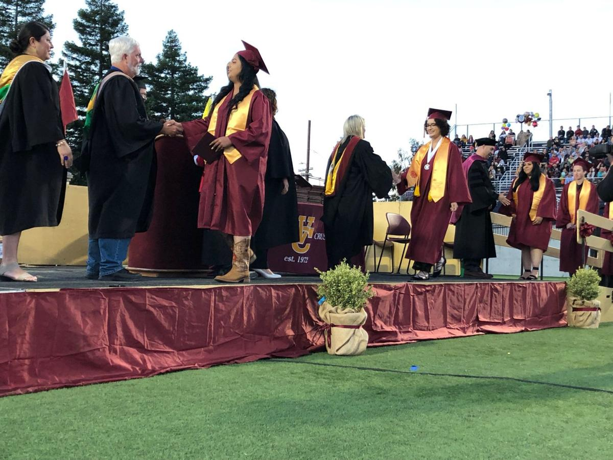 Vintage High graduation at Memorial Stadium 2019