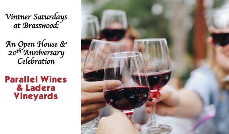 Vintner Saturdays Open House: Parallel Wines & Ladera Vineyards