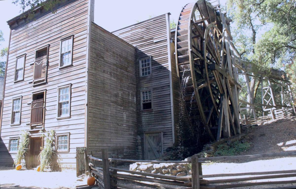 The Bale Grist Mill at Bothe Napa Valley State Park