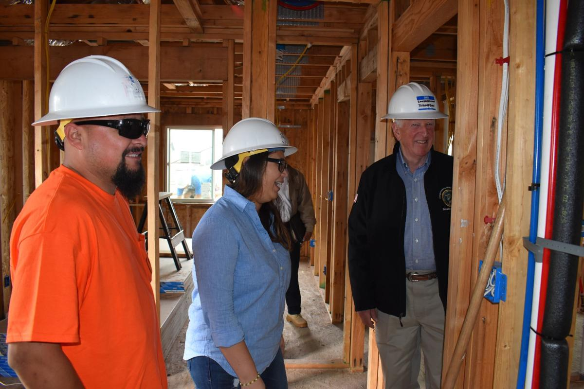 U.S. Rep. Mike Thompson aids the effort for one family to have a ...