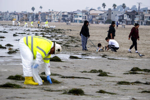 EXPLAINER: What's happening with the California oil spill?