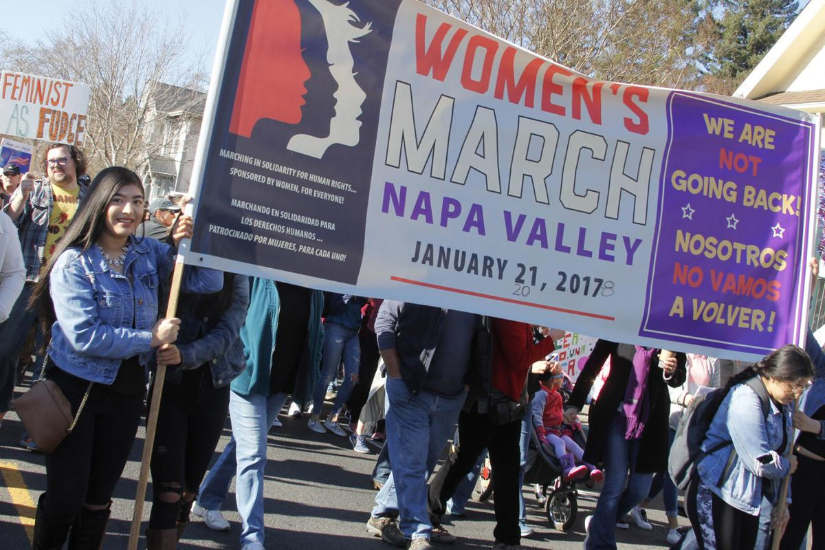 Women's March Napa Valley 2018