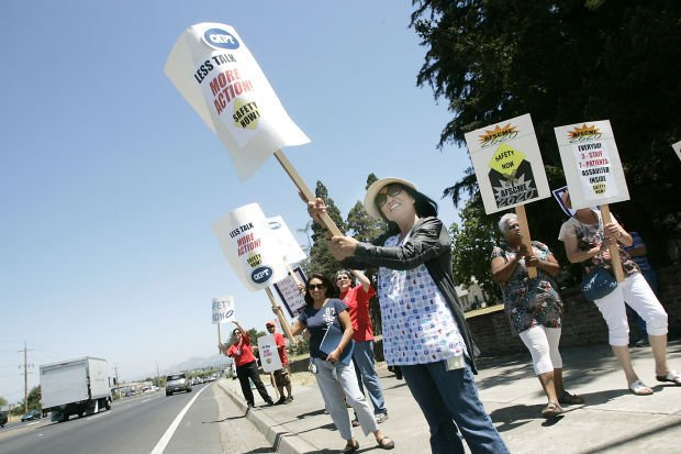 Napa State Hospital Picketers