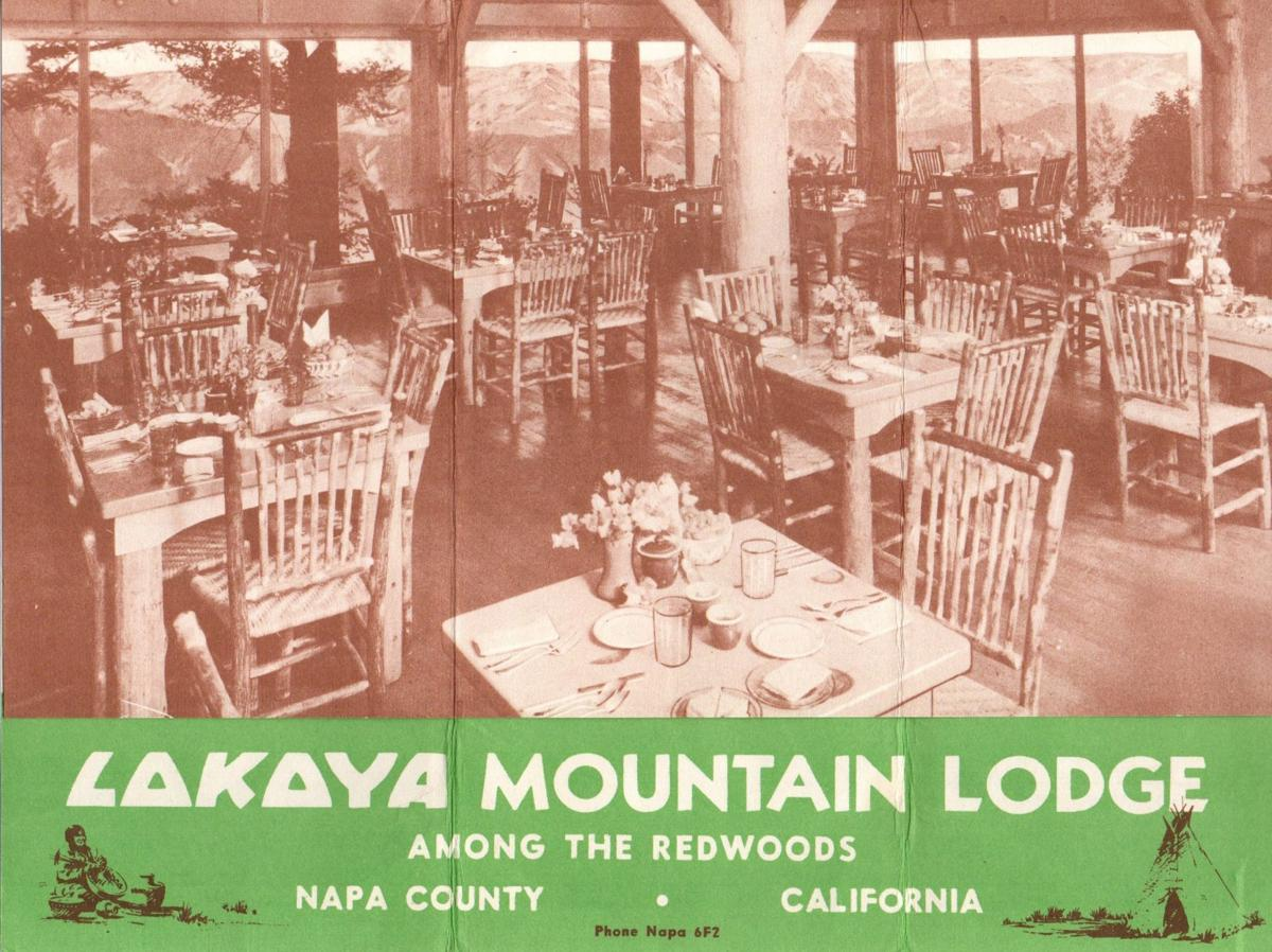 Lokoya Mountain Lodge dining room