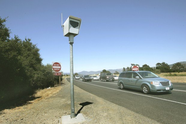 Red Light Cameras at Highways  29 and 121