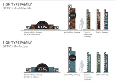 New wayfinding signs proposed for downtown Napa