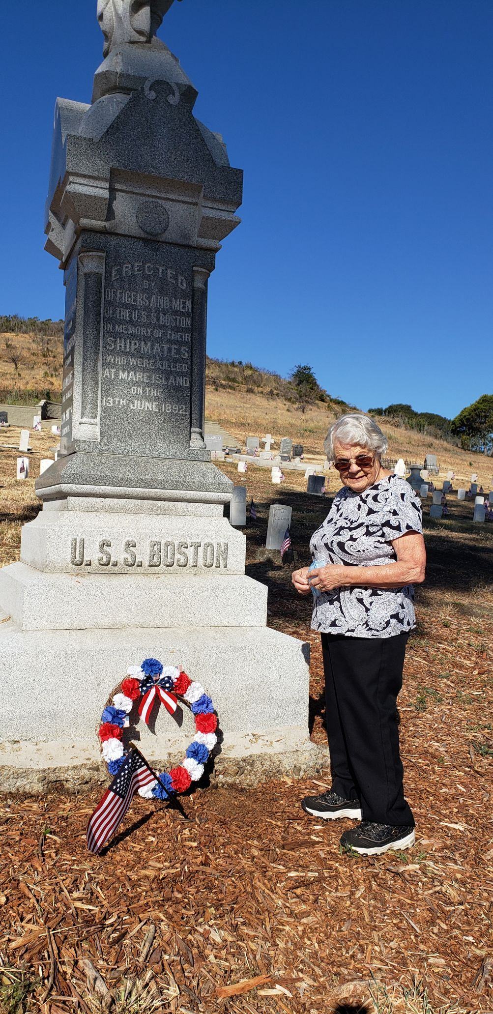 Officials laud improvements to Mare Island Naval Cemetery during Memorial Day event