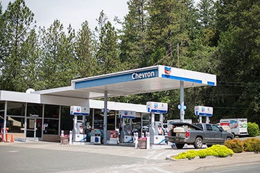 The Angwin Chevron station