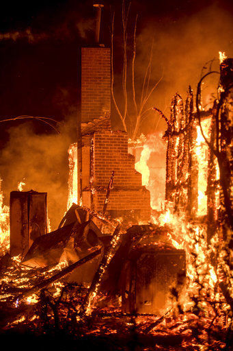 Town known as 'Shangri-La' threatened by California fire