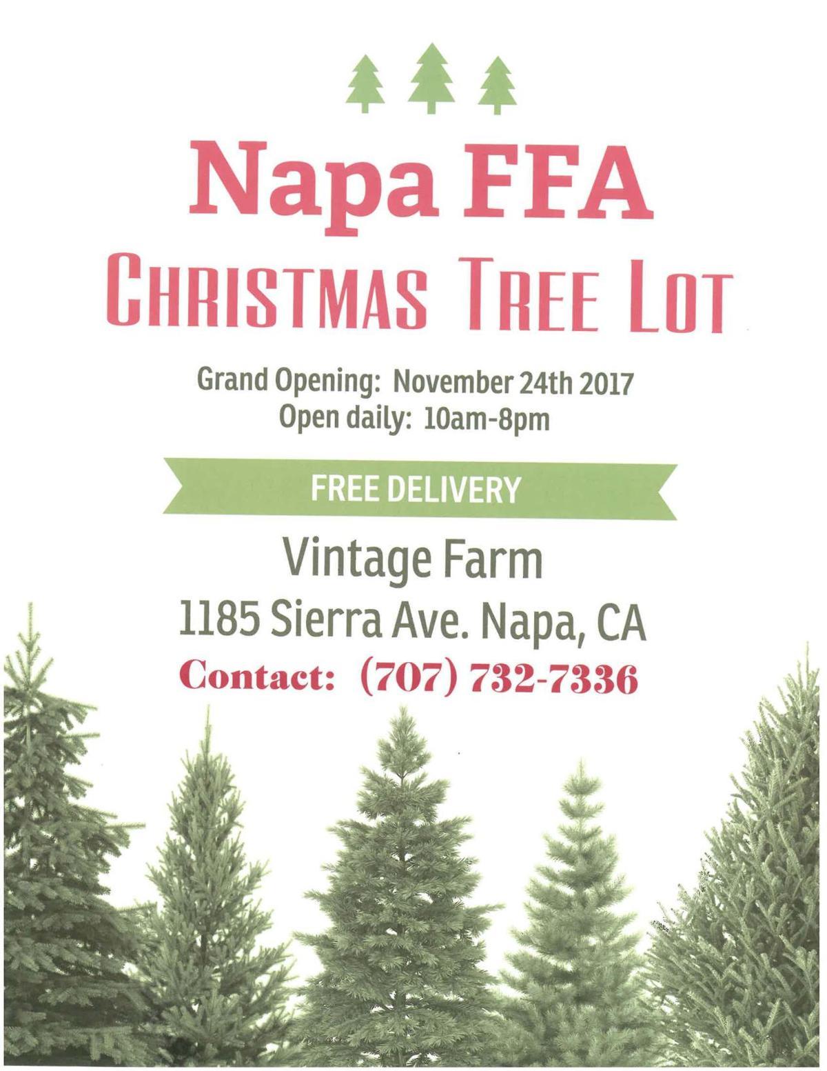 Napa FFA & Vintage Farm Tree Sale