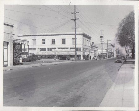 A vintage photo of 801 Coombs St.