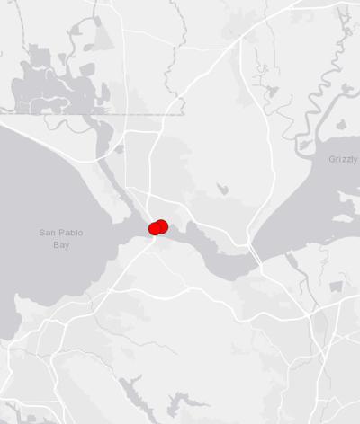 Solano County earthquakes 11/10