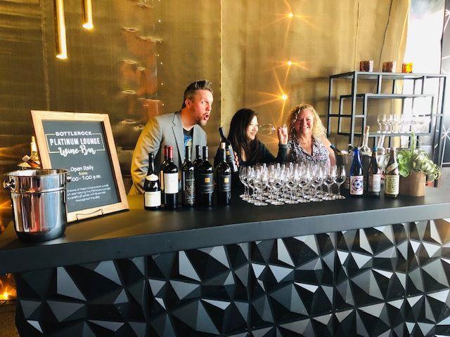 BottleRock Platinum Lounge Wine Bar
