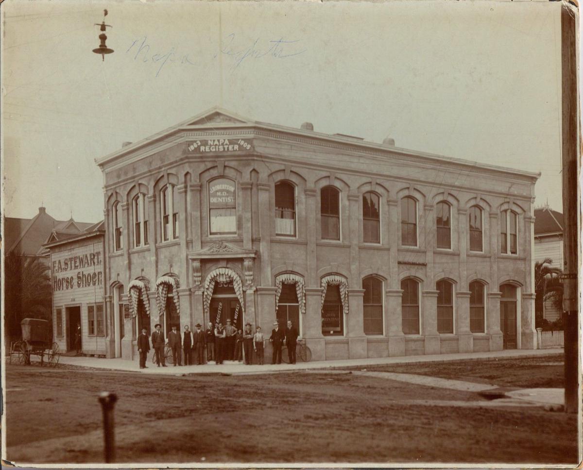 Napa Register in 1906