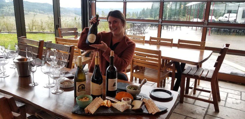 Jessica Thomas of Sweet Cheeks Winery