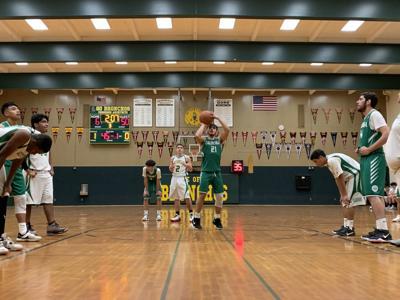 Calistoga boys basketball