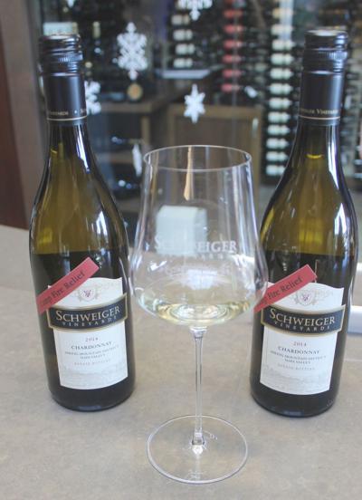 Schweiger Vineyards' 2014 Chardonnay