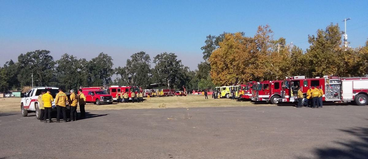 fire engines Calistoga