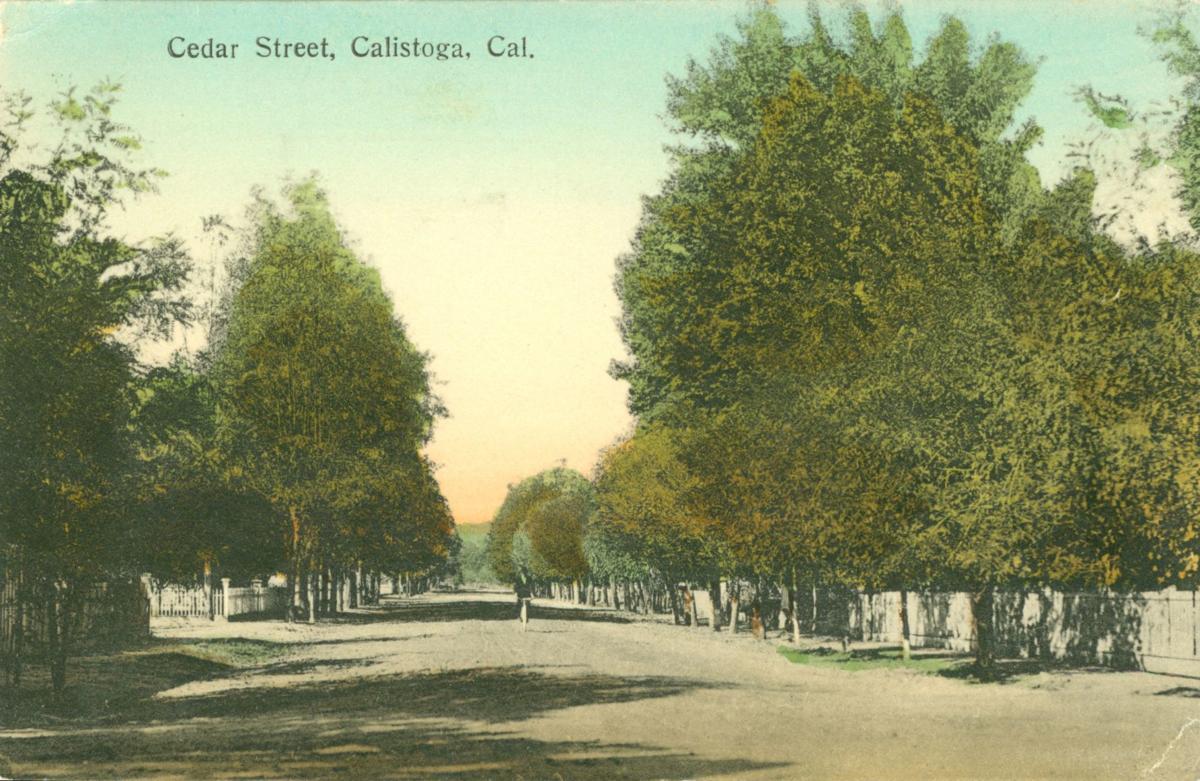 Cedar Street, Calistoga