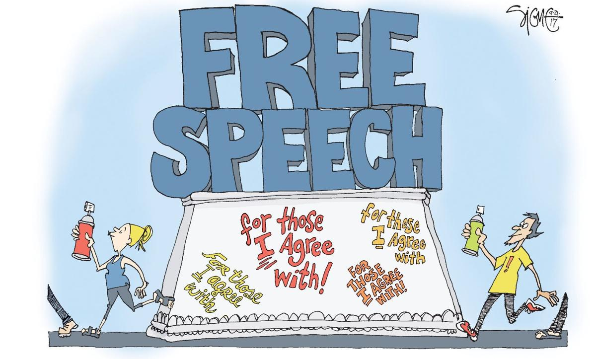 hate why we should resist it with free speech not censorship inalienable rights