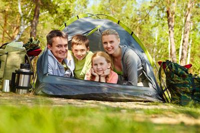 Family of travelers