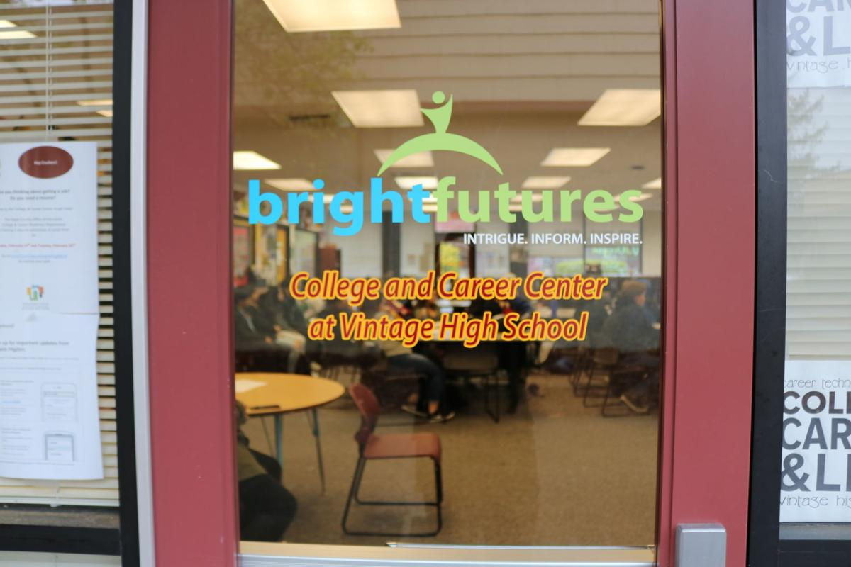 The BrightFutures College and Career Center at Vintage High School