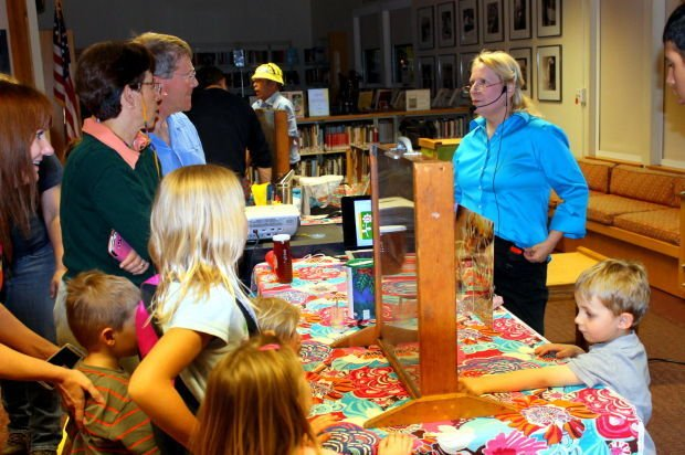 Library hosts Uncle Jer's Traveling Bee Show