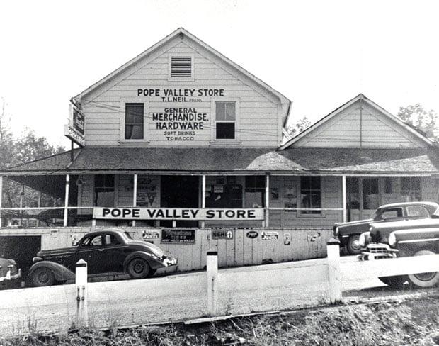 Pope Valley memories 1