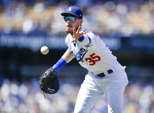 Dodgers beat Giants 5-0, magic number at 2 for NL West