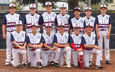 Napa Valley Nationals 12-and-under baseball team