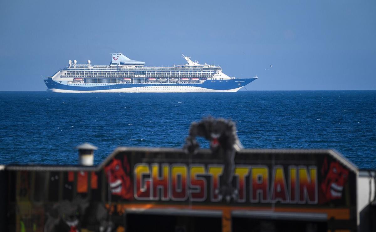 Ghost cruise ship