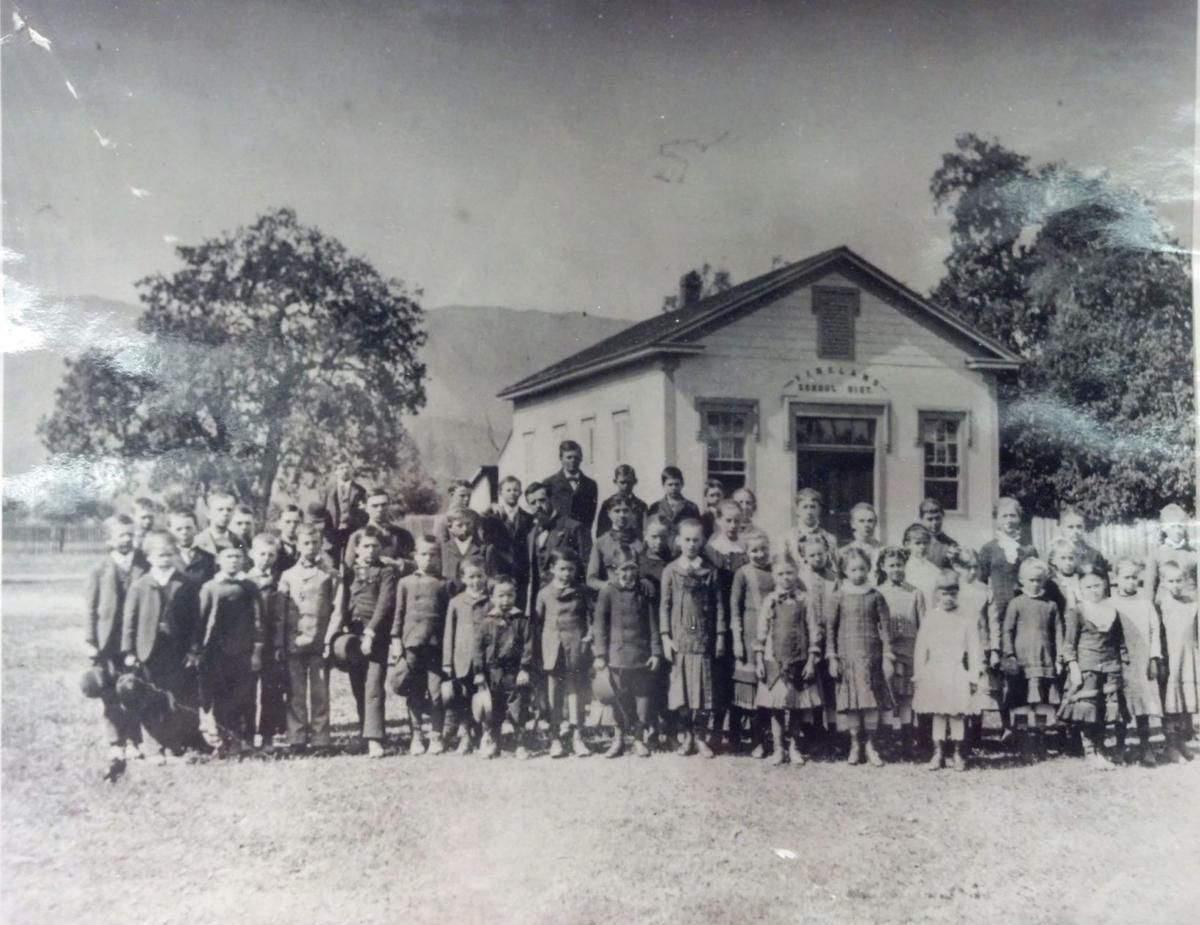 Vineland School, circa 1882 or 1883