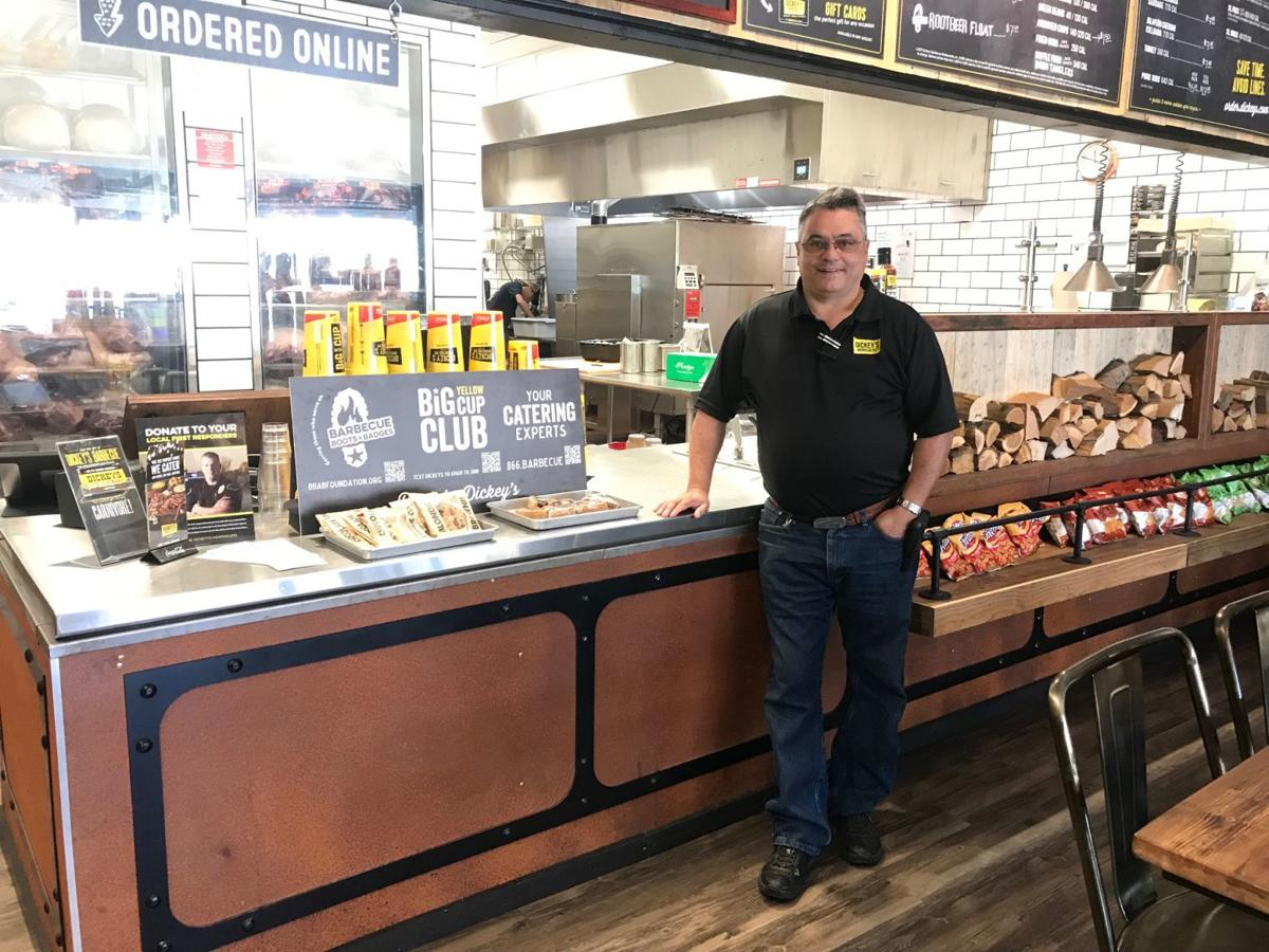 Rene' and Gwen Bassett have opened Dickey's Barbecue Pit in the River Park shopping center in south Napa.