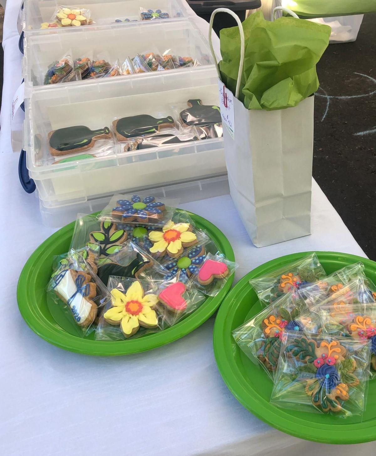 Cookies, Too can be found at the St. Helena Farmers' Market