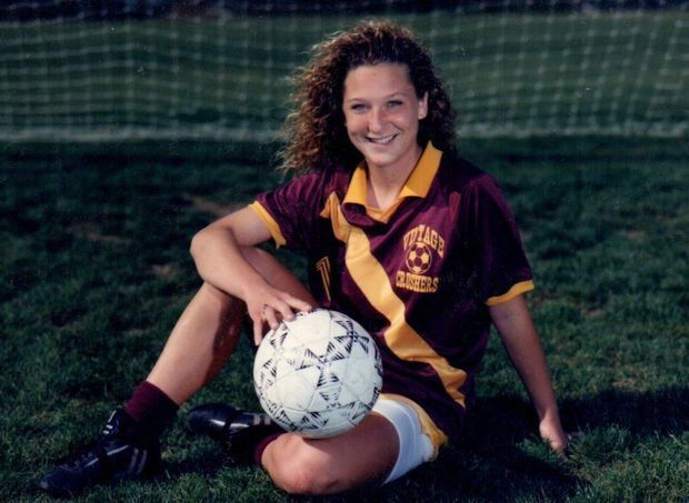 Is A Big Part Of Crushers History She Was The Captain And MVP Girls Soccer Team In 1989 90 Becker Hired To Coach Vintage JV