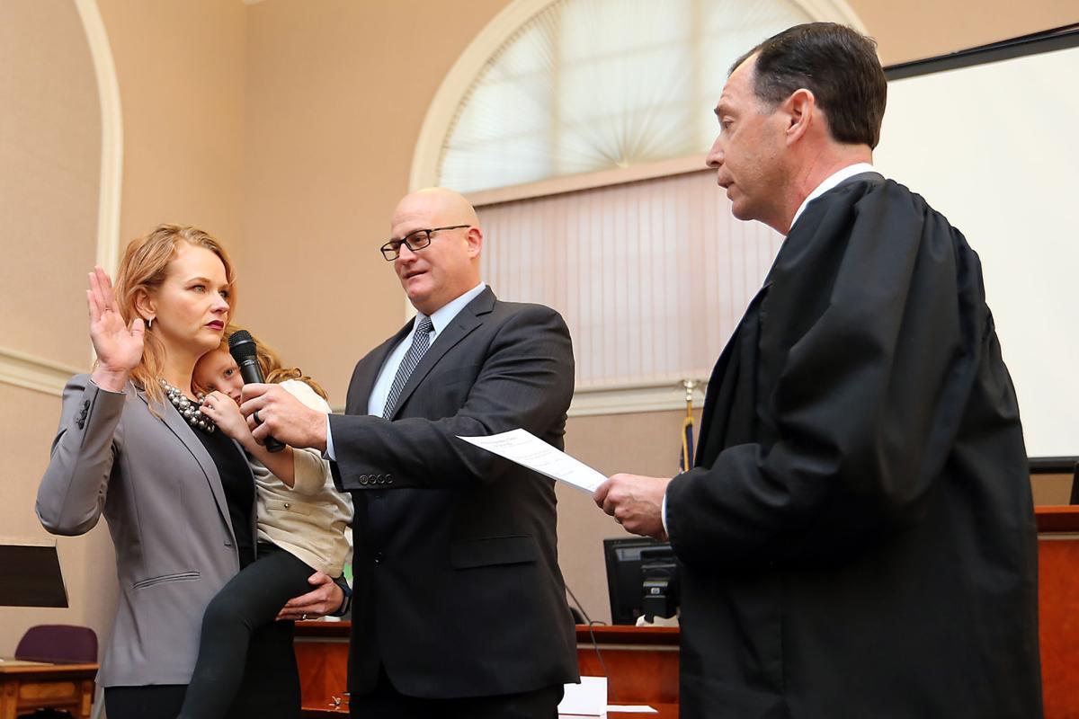 Photos Allison Haley Sworn In As Napa County District
